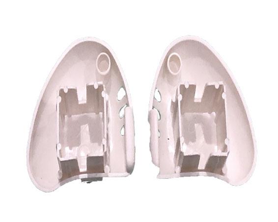 Tapa plástica frontal para barras.