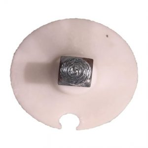 Adaptador de plástico con tapa cuadrada